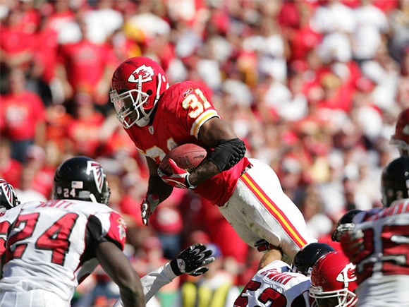 The Numbers | On The Field | Official Priest Holmes Website