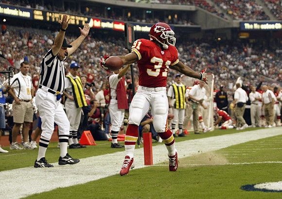 On The Field | Official Priest Holmes Website | Priest Holmes The Journey