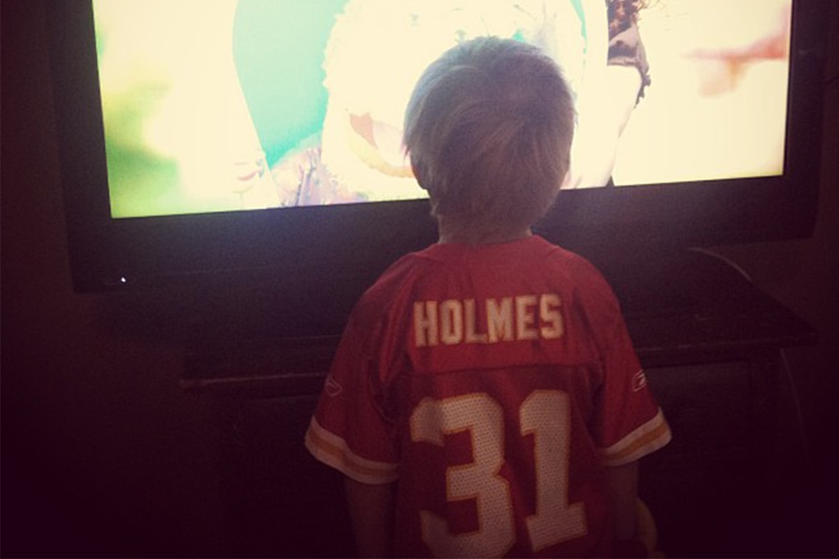@mommijenni via Instagram | Priest Holmes Off the Field Images | Exclusive Media Content