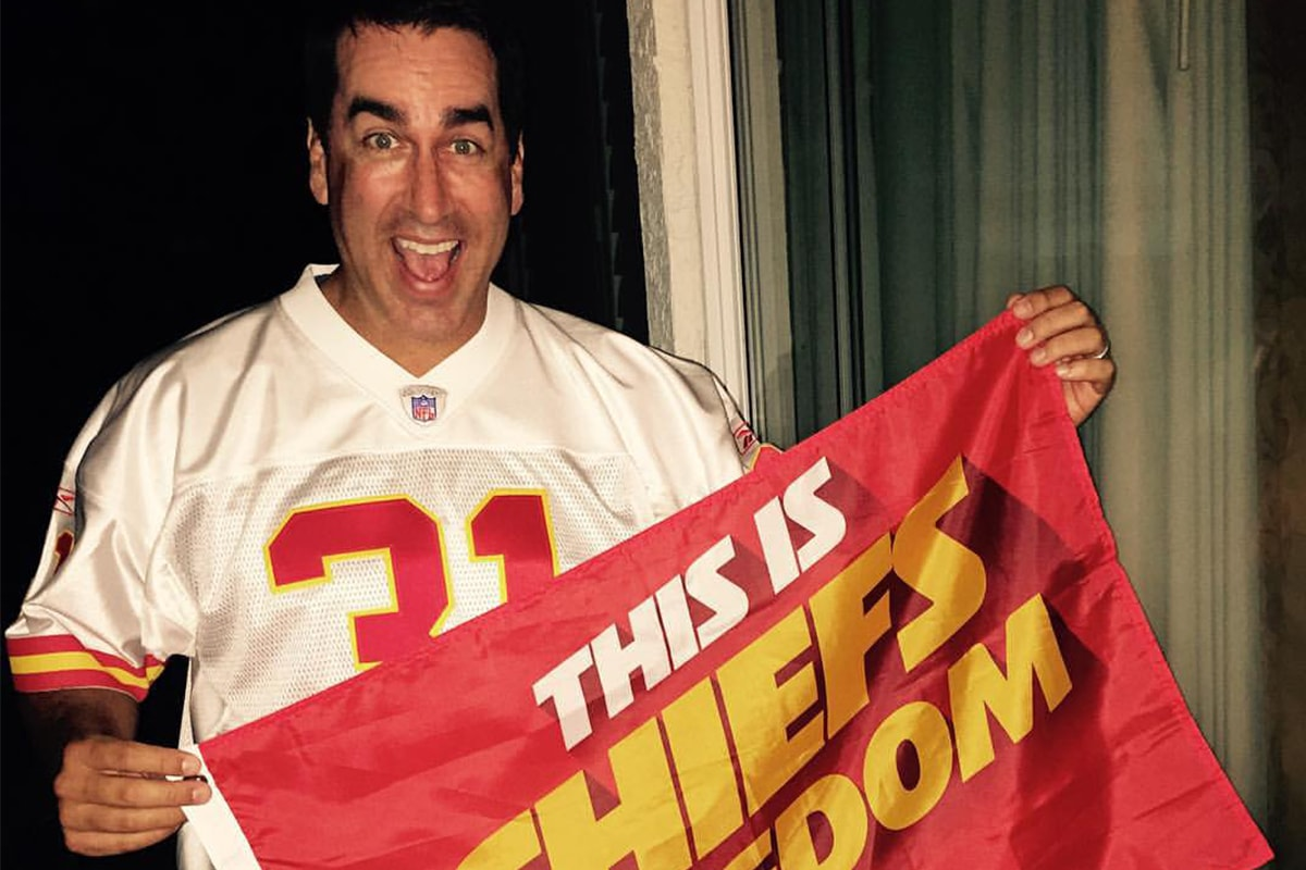 Rob Riggle via Facebook | Priest Holmes Off the Field Images | Exclusive Media Content | Official Priest Holmes Website