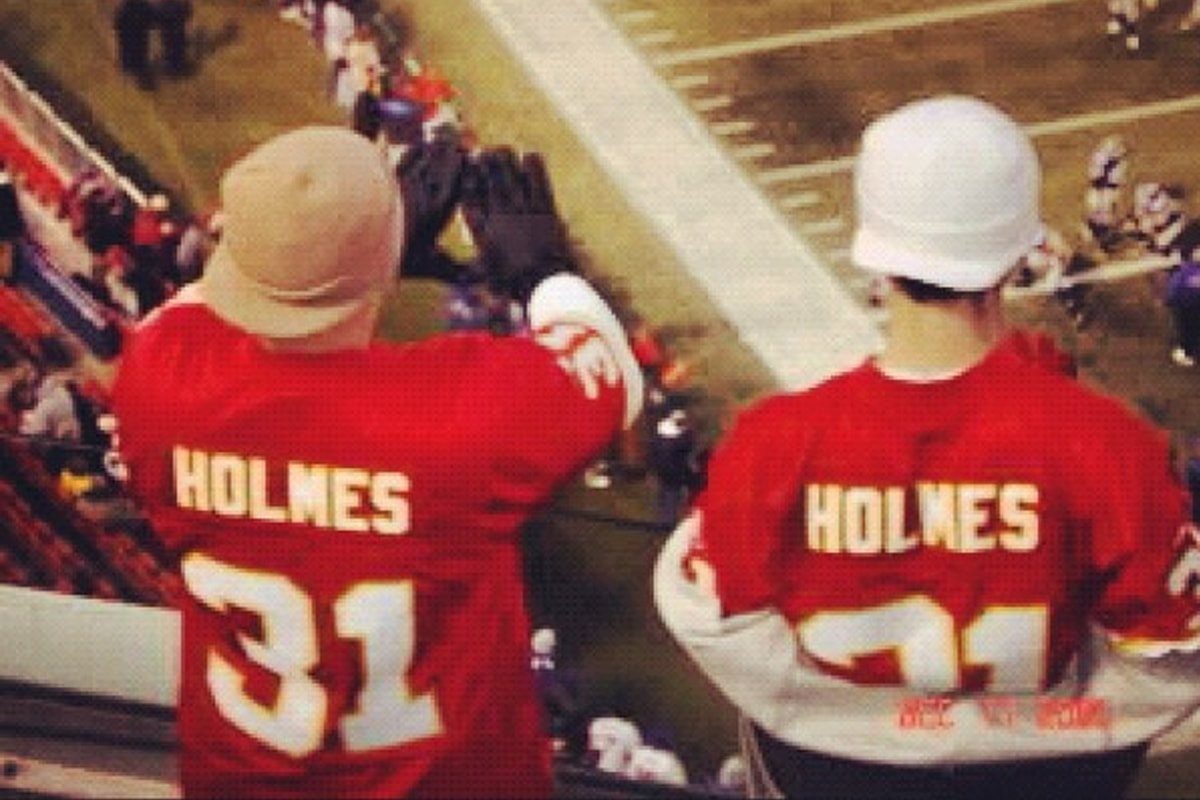 @19eightynine_ via Instagram | Priest Holmes Off the Field Images | Exclusive Media Content | Official Priest Holmes Website