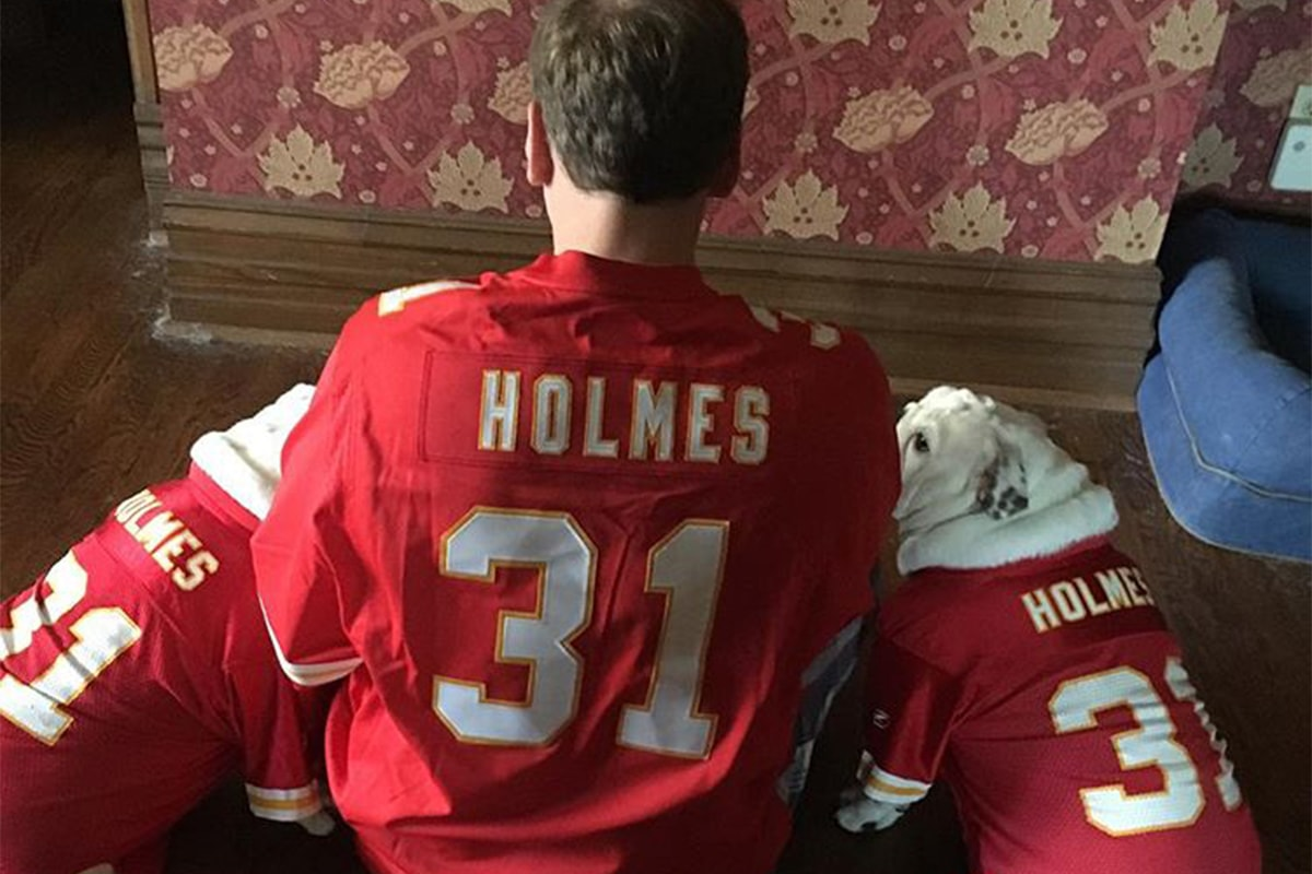 @boiled_chicken_ via Instagram | Priest Holmes Off the Field Images | Exclusive Media Content | Official Priest Holmes Website