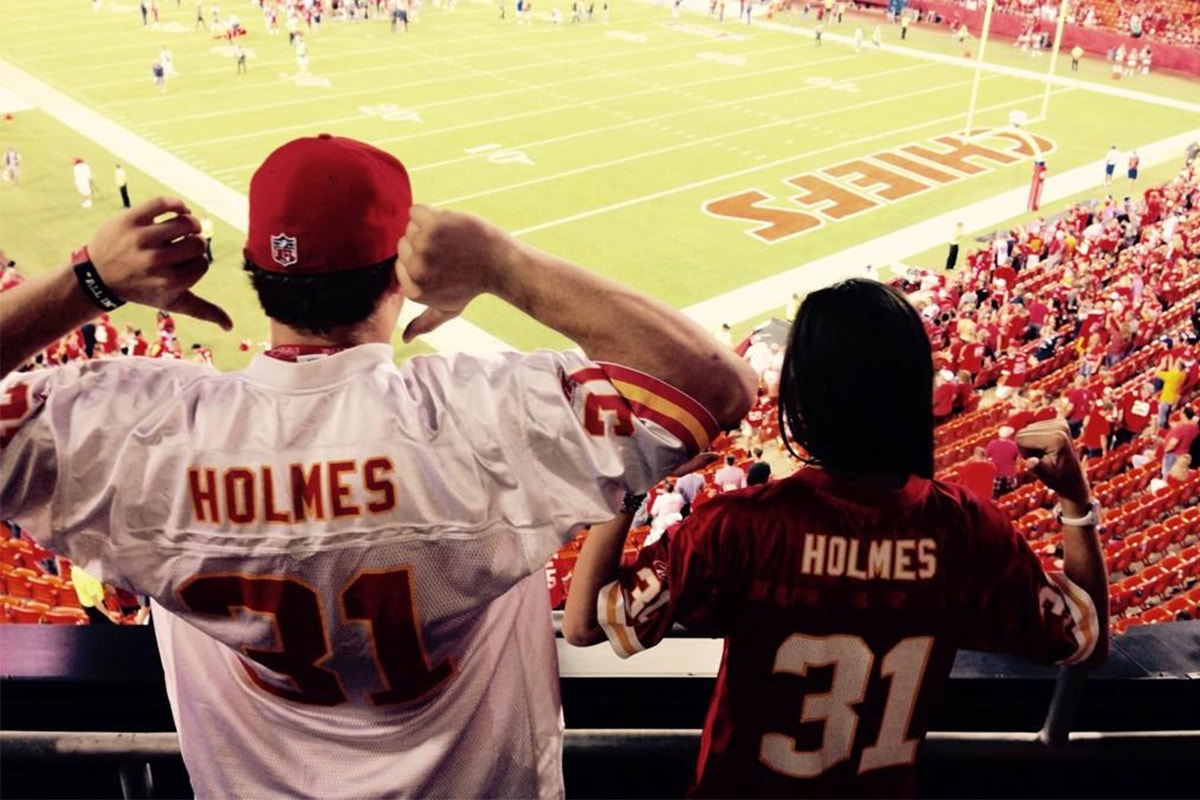 @Itz_Tratz via Twitter | Priest Holmes Off the Field Images | Exclusive Media Content | Official Priest Holmes Website