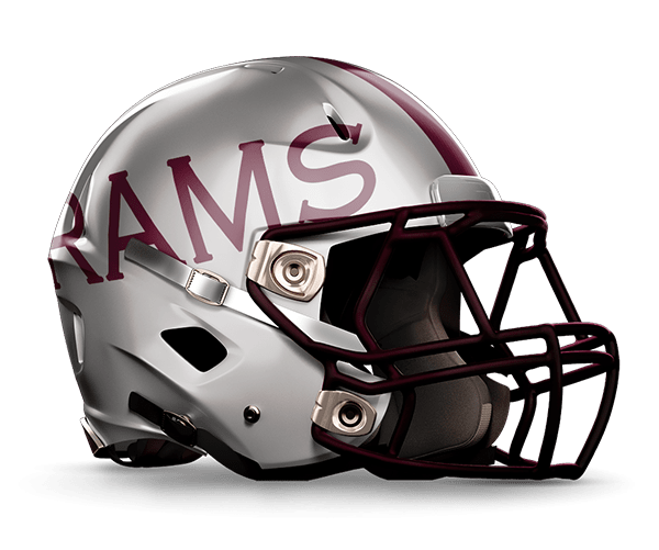 Marshall Rams Helmet | John Marshall High School | San Antonio Texas | Priest Holmes Official Website