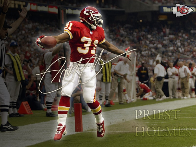 Wallpapers | Media | Official Priest Holmes Website