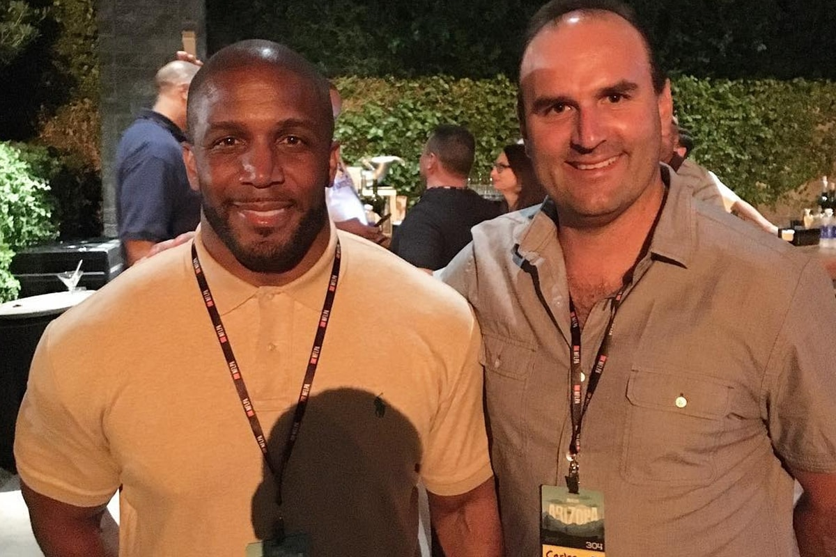@carlosrosadov via Instagram | Priest Holmes Off the Field Images | Exclusive Media Content