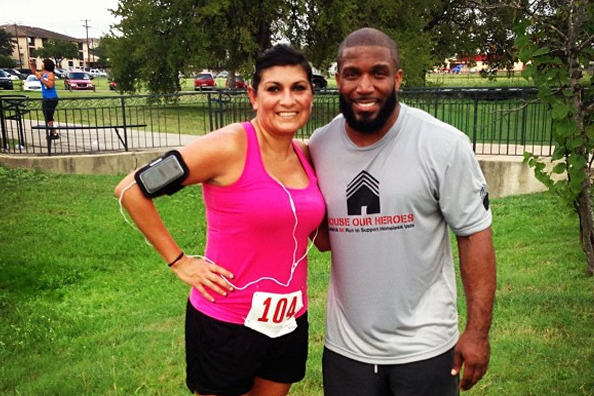 @gabruns4fun via Instagram | Priest Holmes Off the Field Images | Exclusive Media Content