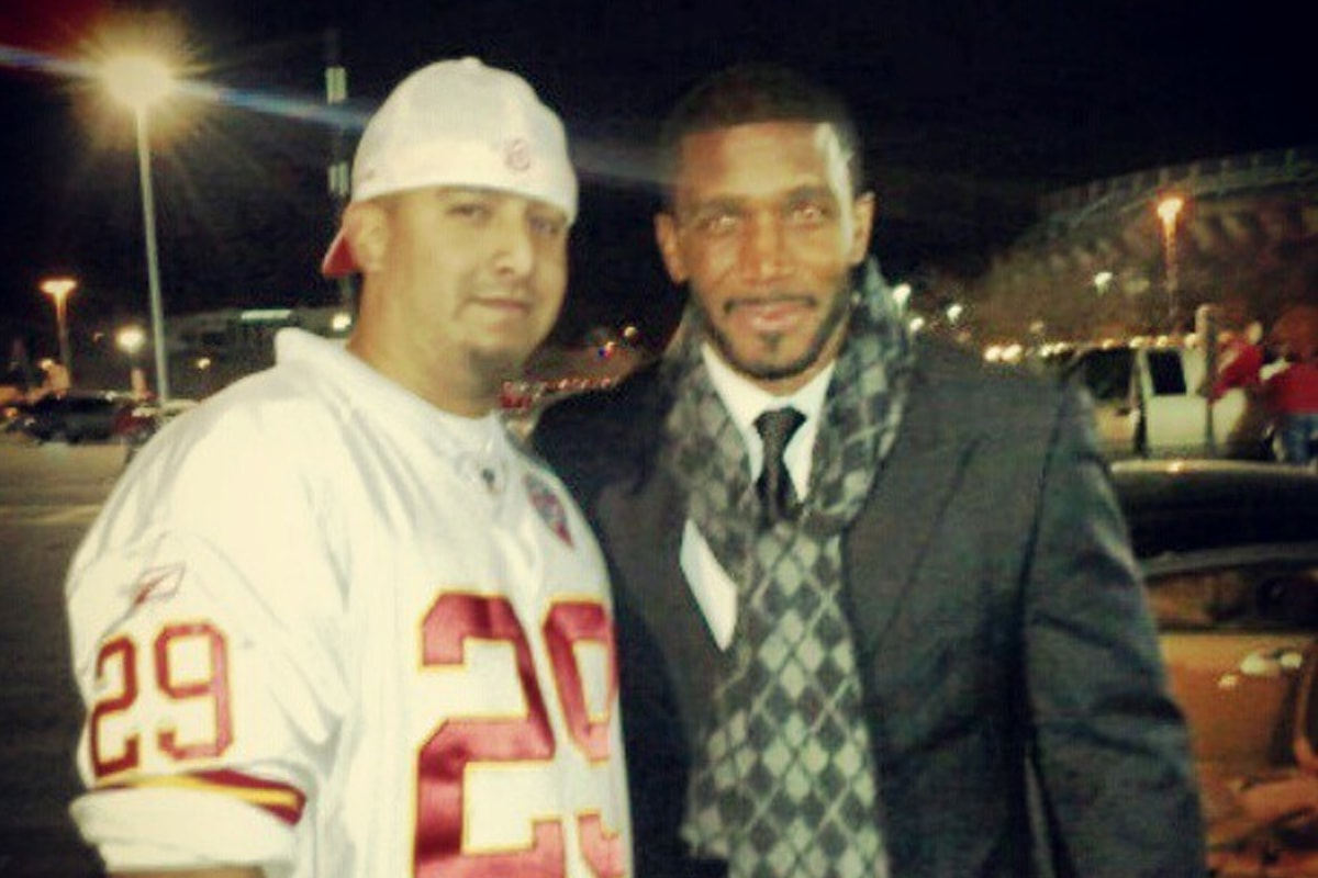 @ngarciaiii via Instagram | Priest Holmes Off the Field Images | Exclusive Media Content