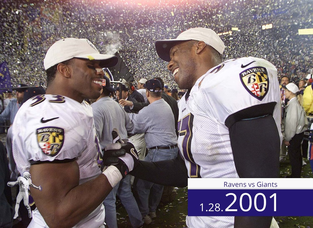 Ravens vs Giants 2001 | On the Field | Priest Holmes Media | Priest Holmes Video