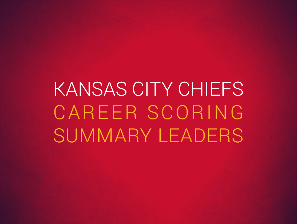 Priest Holmes Kansas City Chiefs Records: Career Scoring Summary | Priest Holmes Records | The Numbers | Kansas City Chiefs Records