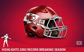 Highlights 2003 Record Breaking Season | Priest Holmes Media | Priest Holmes Videos | Official Priest Holmes Website