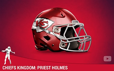 Chiefs Kingdom: Priest Holmes | Priest Holmes Media | Priest Holmes Videos | Official Priest Holmes Website