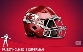 Priest Holmes is Superman | Priest Holmes Media | Priest Holmes Videos | Official Priest Holmes Website