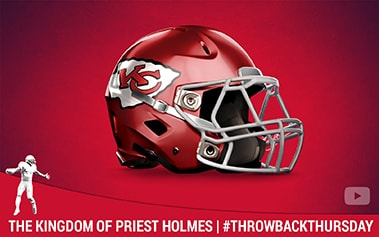 Priest Holmes The Kingdom of Priest Holmes #ThrowbackThursday Video | Priest Holmes Official Website