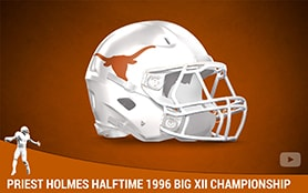 Priest Holmes Halftime 1996 Big XII Championship | Priest Holmes Media | Priest Holmes Videos | Official Priest Holmes Website