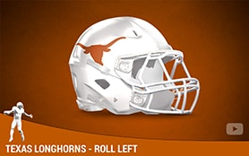 Texas Longhorns - Roll Left | Priest Holmes Media | Priest Holmes Videos | Official Priest Holmes Website