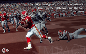 Yards Ran Wallpaper | Priest Holmes Media | Priest Holmes Wallpapers
